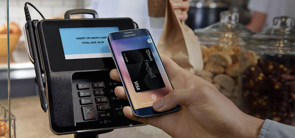 Verifone betalingsterminal - Samsung-Pay