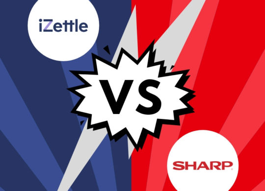 iZettle vs. Sharp
