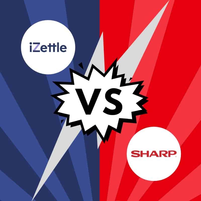iZettle vs. Sharp